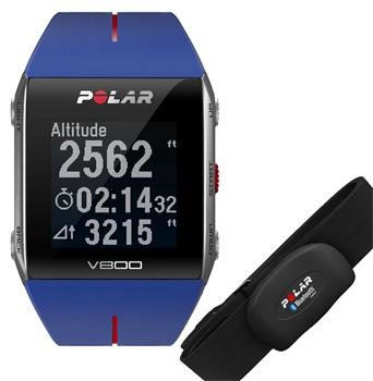 POLAR V800 HR Blue / Fitness / Bluetooth / modrá