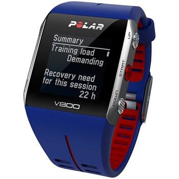 POLAR V800 Blue / Fitness / bez HR / Bluetooth / modrá