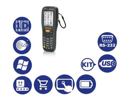 DATALOGIC Memor X3 / 1D / USB / RS-232 / num. klávesnice / kit USB / Win CE 6.0 Core