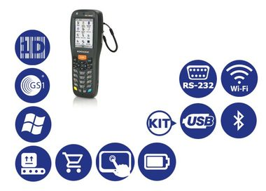 DATALOGIC Memor X3 / 1D / USB / RS-232 / BT / Wi-Fi / num. klávesnice / kit USB / Win CE 6.0 Core