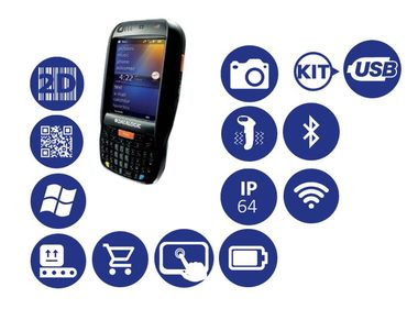 DATALOGIC Elf / 2D / BT / Wi-Fi / kit USB / num. klávesnice / Win Embedded