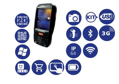 Datalogic Elf / 2D / BT / Wi-Fi / 3G (HSDPA) / GPS / kit USB / Qwerty klávesnice / Win Embedded EN