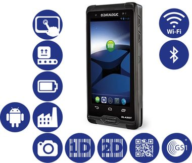 DATALOGIC DL-Axist / 2D / BT / Wi-Fi / NFC /  kit USB / Android 4.1
