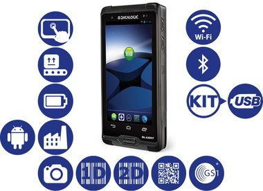 DATALOGIC DL-Axist / 2D / BT / Wi-Fi / NFC / Kit / Android 4.1