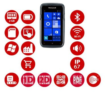 Honeywell Dolphin CT50 / 2D / BT / Wi-Fi / NFC / 4G / kamera / Win 10 IoT Mobile Enterprise
