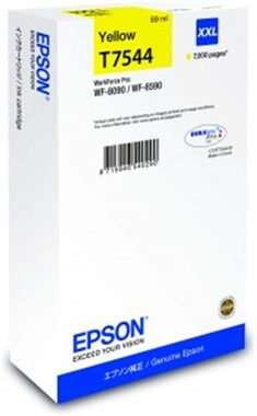EPSON T75544 cartidge / pro WorkForce Pro WF-8090 DW Series / 69 ml / žlutá