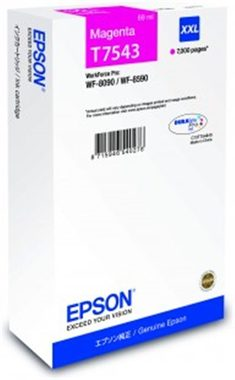EPSON T7543 cartidge / pro WorkForce Pro WF-8090 DW Series / 69 ml / purpurová