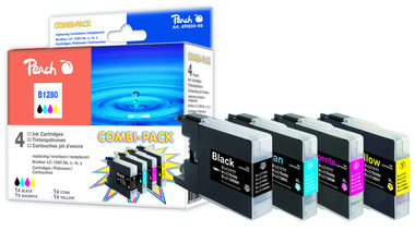 Peach alternativní cartridge Brother LC-125XL a LC-127XL / Brother DCP-J4110W / Combi Pack Plus