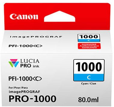 Canon cartridge PFI-1000 C Cyan Ink Tank