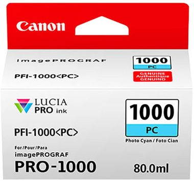Canon cartridge PFI-1000 PC Photo Cyan Ink Tank