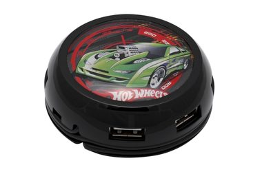 MODECOM HUB UFO / 7 portů / USB 2.0 / HOT WHEELS
