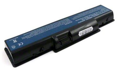 JUPIO akumulátor pro notebooky Acer / AS07A71 series - Black *ULTRA PLUS* / 10400 mAh / 11.1V / 12 buněk