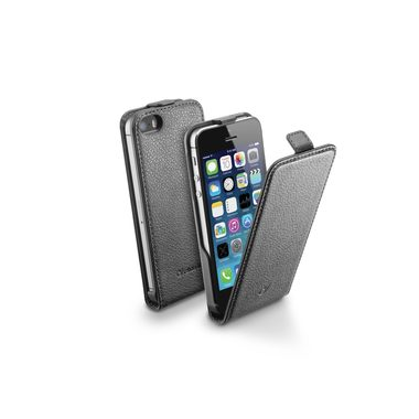 CellularLine Flap Essential Pouzdro pro Apple iPhone 5 a 5S a SE / černé