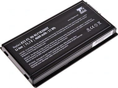 T6 Power Baterie pro Asus F5 / X50 / X59 / 6cell / 4600mAh