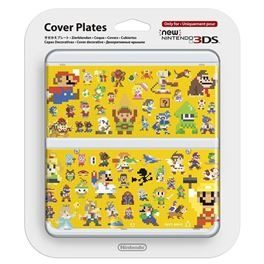 New 3DS Cover Plate 29 / kryt pro nové Nintendo 3DS / Multiplayer Characters
