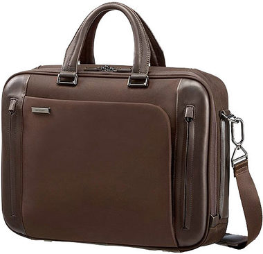 "Samsonite BAILHANDLE S 15.6"" BUSINESS TECH / Brašna na notebook / hnědá"