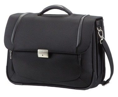 "Samsonite BRIEFCASE 3 GUSSETS 16"" X'BLADE BUSINESS 2.0 / Brašna na notebook / černá"
