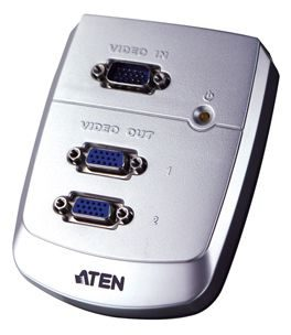 ATEN Video rozbočovač 1PC - 2VGA / 250Mhz
