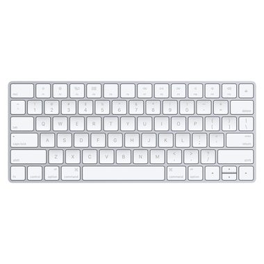 Apple Magic Keyboard / drátová klávesnice / USB / Lightning konektor / US