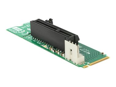 Delock adaptér M.2 NGFF Key M samec > PCI Express x4 Slot