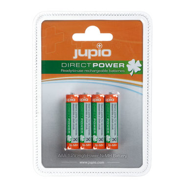 JUPIO dobíjecí baterie Direct Power AAA Ni-MH 850 mAh - 4ks