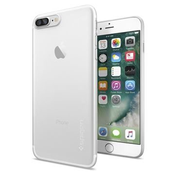 Spigen Air Skin Soft Clear / pouzdro pro Apple iPhone 7 Plus / čirá