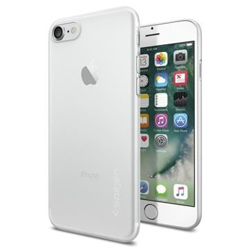 Spigen Air Skin Soft Clear / pouzdro pro Apple iPhone 7 / čirá