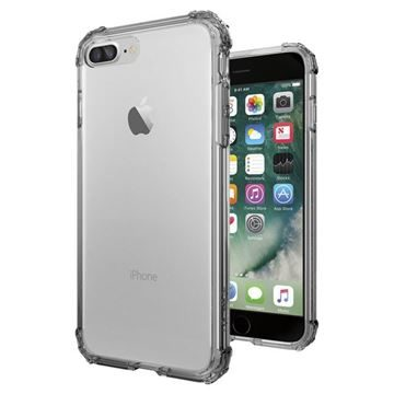 Spigen Crystal Shell Dark Crystal / tenký kryt pro Apple iPhone 7 Plus / čirá