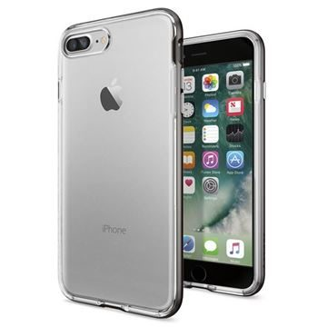 Spigen Neo Hybrid Crystal Gunmetal / tenký kryt pro Apple iPhone 7 Plus / šedá