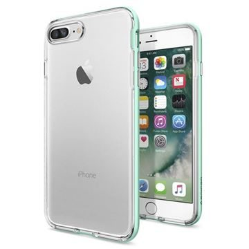 Spigen Neo Hybrid Crystal Mint / tenký kryt pro Apple iPhone 7 Plus / zelená