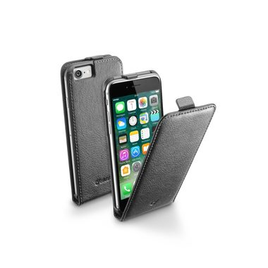 CellularLine Flap Essential Pouzdro pro Apple iPhone 7 / černé