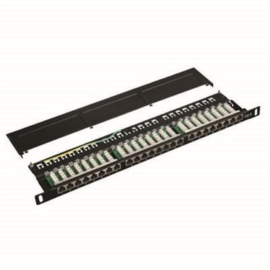 "DATACOM Patch panel 19"" STP 24 port CAT6 LSA 0.5U"
