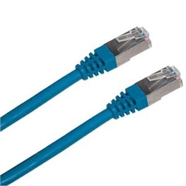 DATACOM Patch kabel SFTP CAT6 2xRJ45 2m modrý