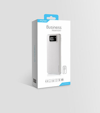 iMyMax Business Power Bank 12.000mAh - bílá