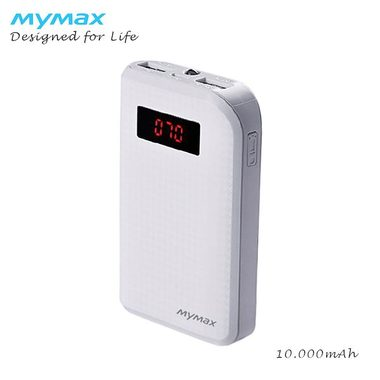 iMyMax Carbon Power Bank 10.000mAh - bílá