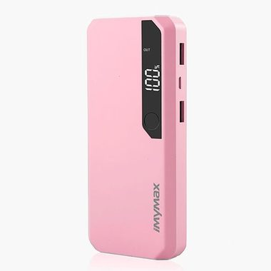 iMyMax Fashion Power 10.000mAh - růžová