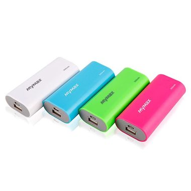 iMyMax Fashion Power Bank 5.000mAh - bílá