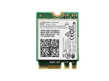 Intel Dual Band Wireless-AC 7265 / 2x2 AC + BT