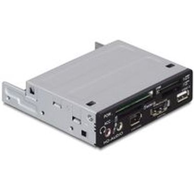 "DeLock Multipanel 3,5"" USB2.0 43in1 5xSlot+eSATAp"