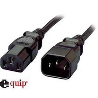 equip Power Extension VDE black