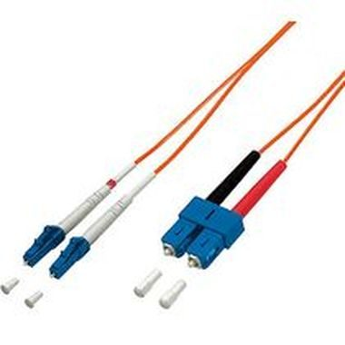 LWL Patch Cord LC/SC 62,5/125µ 1,0m
