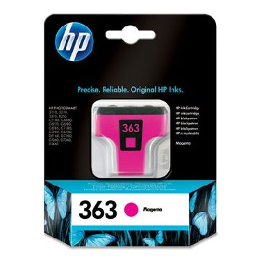 HP C8772EE Magenta ink. cartridge No. 363 pro PS 8250