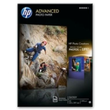 Q8698A Advanced Photo Paper, Glossy, A4, 50 listů, 250 g/m2