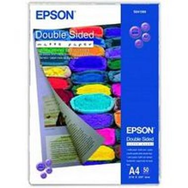 EPSON Paper A4 Double Sided Matte (50 sheets) 178g/m2