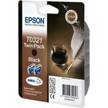 EPSON ink čer C70/C80/C82/CX5200/CX5400 Double Pack