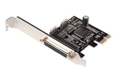 i-tec PCIe I/O Controler card (2x COM, 1x LPT), Low Profile