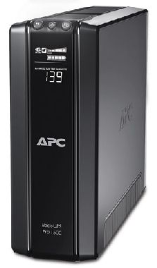 APC Back-UPS Pro BR1500GI / 1500VA Power saving (865W) / LCD displej