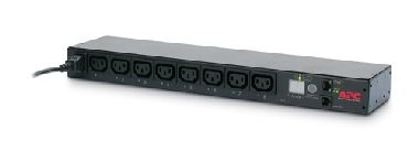 Rack PDU, Switched, 1U, 12A, C14 -> (8)C13 - Horizontal