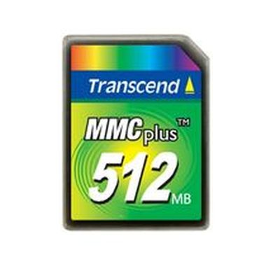 Transcend MMC Plus karta 512MB