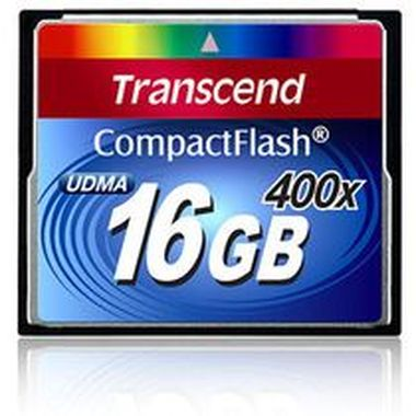 Transcend Compact Flash karta 400x 16GB